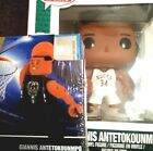 FUNKO POP NBA & BLACK OYO OF BUCKS STUD GIANNIS ANTETOKOUMPO ACTION FIGURES