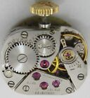 Lady Movado 58 17 jewel watch movement & dial for parts