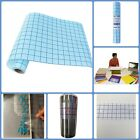 Cricut Silhouette Adhesive Vinyl Crafts Sign Transfer Paper Clear Roll With Grid