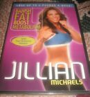 NEW Jillian Michaels Banish Fat Boost Metabolism DVD Lose Up to 5 Pound A Week