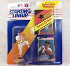Starting Lineup Roger Clemens MLB Action Figure Superstar Poster 1992 Red Sox