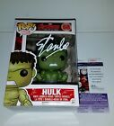 STAN LEE HAND SIGNED HULK THE AVENGERS FUNKO POP WITH JSA COA