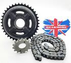 ROYAL ENFIELD  350CC THUNDERBIRD TWINSPARK FRONT REAR SPROCKET CHAIN KIT @ UK