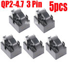 5 Pcs QP2-4.7 START RELAY  PTC For 3Pin DANBY MAGIC CHEF KENMORE REFRIGERATOR
