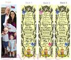 3 Royal Family Prince William George Louis PRINCESS CHARLOTTE Birth Announcement