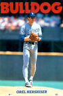 Orel Hershiser BULLDOG Los Angeles Dodgers 1990 Costacos Brothers POSTER