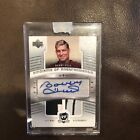 2005-06 THE CUP BOBBY HULL AUTO DUAL PATCH # 15 EMBLEMS OF ENDORSEMENTS