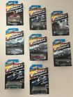 Hot Wheels Fast and Furious Complete Set set of 8 2014