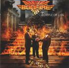BONFIRE - TEMPLE OF LIES (+2 Bonus) (2018) German Heavy Metal CD Jewel Case+GIFT
