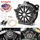 Air Cleaner Intake Filter Kit For Harley Tour Electra Street Glide Road King CNC