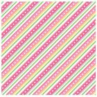 Little One Flannel Too By Maywood Studio Pink Diagonal Stripe