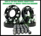 5X45 TO 5X5 WHEEL ADAPTERS HUB CENTRIC 15 THICK ADAPTS JK WHEELS ON TJ YJ KK