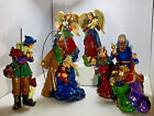 Possible Dreams Resin Nativity Creche 9 Figures 5 Pieces 9 to 95 Tall