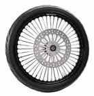23 35 Fat Front Wheel Chrome Tire Package 08 18 Harley Softail Touring DD BW
