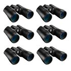 Bushnell Powerview 16x50 High Powered Binoculars for Long Range Viewing 6 Pack