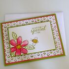 Stampin Up Handmade Birthday Special Day Card Kit Set Of 4
