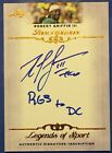 ROBERT GRIFFIN III 2012 LEAF RC AUTO INSCRIPTIONS RG3 TO DC Redskins Signed