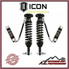 ICON Front Remote Reservoir Coil Over Shock Kit w/ CDCV 2015-2018 Ford F150 4WD