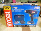 Ryobi Shorty Cordless Drill / Driver. 2 x Battery, Charger, Bit and Soft case