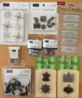 Assorted Scrapbook Metal Embellishments Brads And Tags Over 150 Pieces