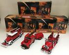 LOT OF 3 MATCHBOX MODELS OF YESTERYEAR FIRE ENGINE SERIES 1932 1938 1948