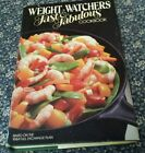 Vtg Book 1983 Weight Watchers Fast and Fabulous Cookbook Dieting History