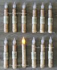 Set of 12 - LED Burnt Ivory 6