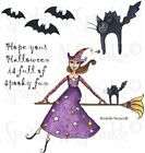 Spooky Fun Rubber Stamp Set 00 737P7