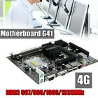 G41 Motherboard 4GB Support LGA 775 Core 2 Duo Double DDR3 667 800 1066 1333MHz