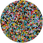 Lot of 2500pcs DIY 11 0 Rocaille 18mm Small Round Glass Seed Beads mix