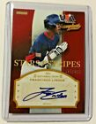 Francisco Lindor 2013 Stars & Stripes USA Auto #'d 29 250 card Cleveland Indians