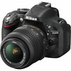 Nikon D D5200 241MP Digital SLR Camera Black Kit w AF S DX G VR 18 55mm Len