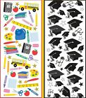 U CHOOSE Sticko Dimensional Puffy Stickers TIME FOR SCHOOL GRADUATION Students