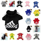 Casual Adidog Pet Puppy Jumpsuit Dog Winter Warm Clothes Hoodie 4 Leg Sweatshirt