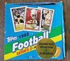 1992 Topps Football Series 2 Box Of Cards AS IS C29