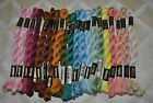 Lot Of 20 Skeins DMC Pearl Cotton 3 Assorted Colors Thread Floss Perle