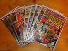 US Comic Bronze Age Marvel Paket Ghost Rider,Powerman & Ironfist,Rom,Kazar,Conan