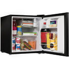 Compact Small Mini Fridge Refrigerator Office Dorm Beer Cooler Party Black 1.7Cu