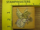 Rubber Stamp Precious Moments Horn Angel Stampendous Stampinsisters 2317