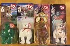 set of 4 Ty Beanie Babies,Maple, Erin , Glory and Britannia  McDonald 1999
