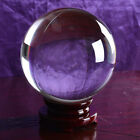 Clear Glass Crystal Ball Healing Sphere Photography Photo Props Gifts 300mm