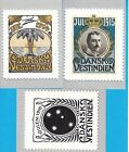 1997 US Virgin Islands Cards all Danish West Indies Chritsmas seals series