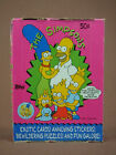 THE SIMPSONS TRADING CARD BOX 1990 36 PACKS WITH TOPPS PRODUCT SALES INSERT