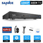 SANNCE 16CH 8CH 4CH 5in1 1080P 2MP DVR Video Recorder Home Security CCTV System