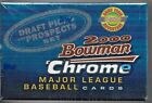 2000 Bowman Chrome Draft Picks & Prospects 110 Card Set Sealed New In Box