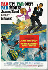 ON HER MAJESTY'S SECRET SERVICEMOVIE POSTER JAMES BOND Reprint 27x40 Inch ROLLED