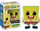 FUNKO POP #25 SPONGEBOB SQUAREPANTS HOT TOPIC EXCLUSIVE GLOW IN THE DARK VINYL🎀