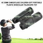 4X 35mm Camouflage Children Gift Portable Plastic Binocular Telescope Toy RM