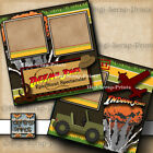 Disney Indiana Jones Epic Stunt Adventure 2 premade scrapbook pages digiscrap