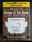 2018 LEAF HEROES OF THE GAME CUT SIGNATURE AUTO 1 PER Blaster Box